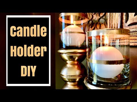 Dollar Tree Candle Holders | DIY Room Decor