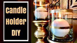 Dollar Tree Candle Holders | DIY Room Decor