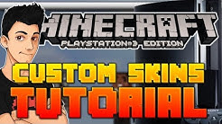 Download How To Get Custom Skins Minecraft PS3 mp3 free and mp4