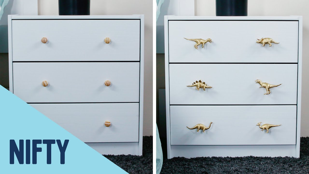 6 Unique Homemade Drawer Knobs
