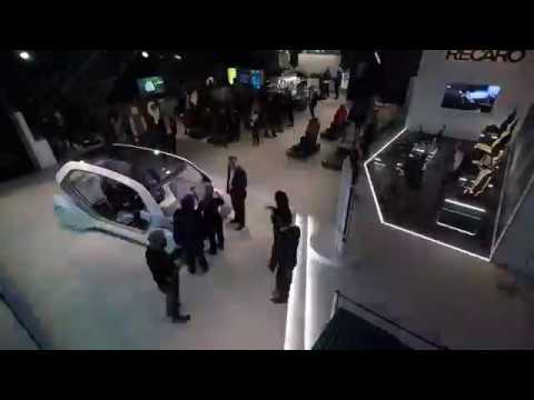 Adient's NAIAS 2018 Experience (timelapse)