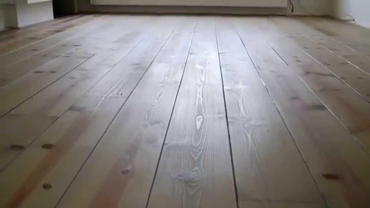 Massief Grenen Vloer : Grenen planken vloer geolied met monocoat sky grey youtube
