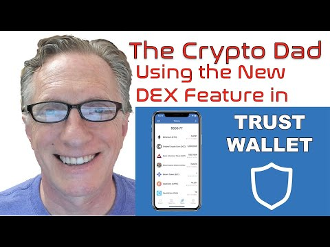 Using The New Trust Wallet DEX To Trade ERC20 And BEP2 Tokens