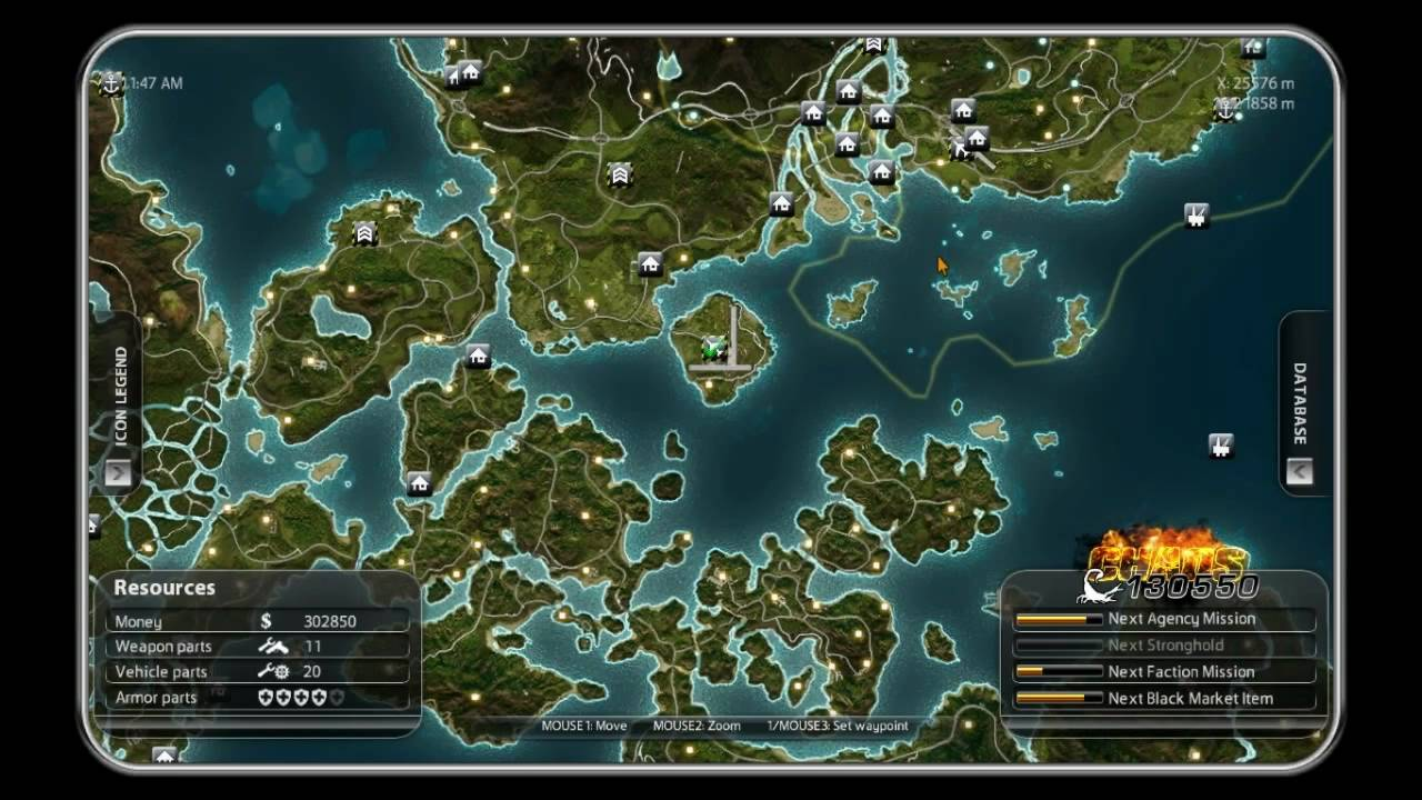 Just cause 2 map airport locations youtube just cause 2 map airport locations publicscrutiny Image collections