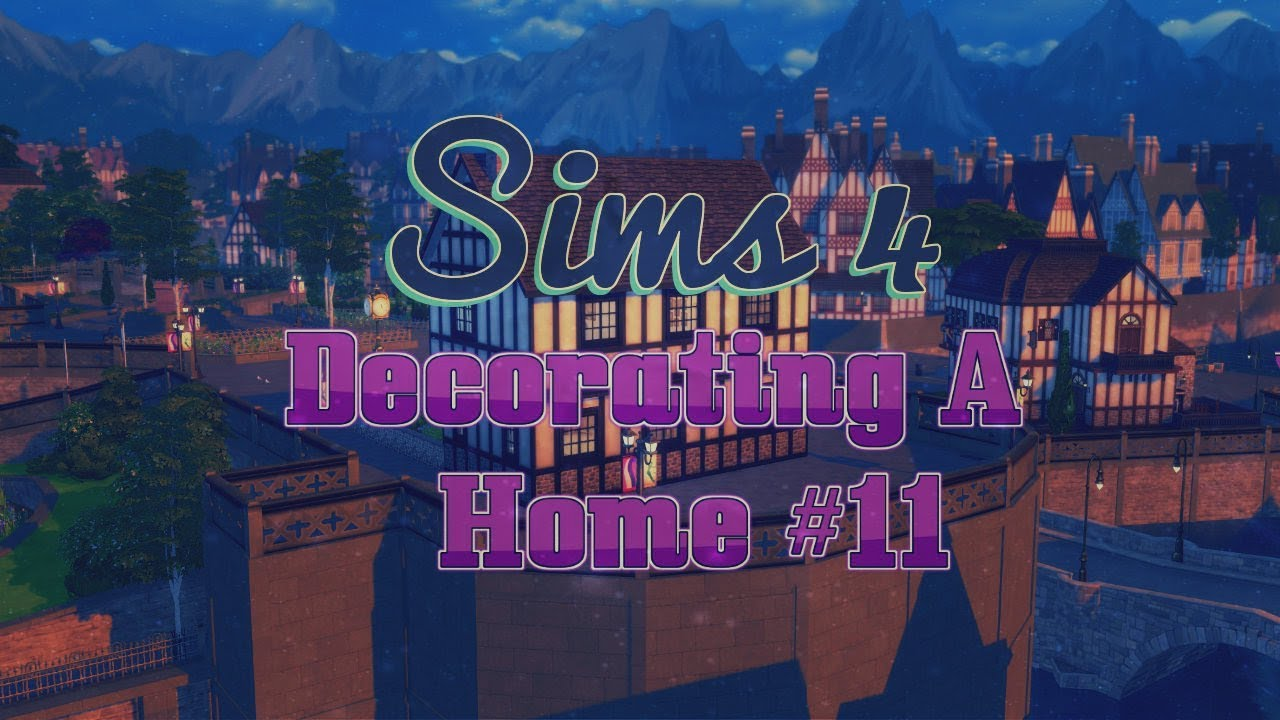 The Sims 4 - Decorating A Home #11 (Speed Decorating ...