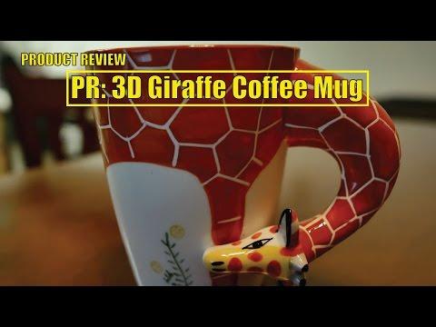 PR: 3D Giraffe Coffee Mug