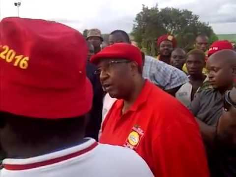 Violence being enticed  by GBM  vice President of the UPND