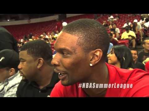 "NBA stars play a game of ""Sport Association"" at the 2012 NBA Summer League"