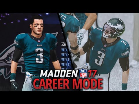 Madden 17 Career Mode - Ep. 1 - PLAYER CREATION & DEBUT GAME!!