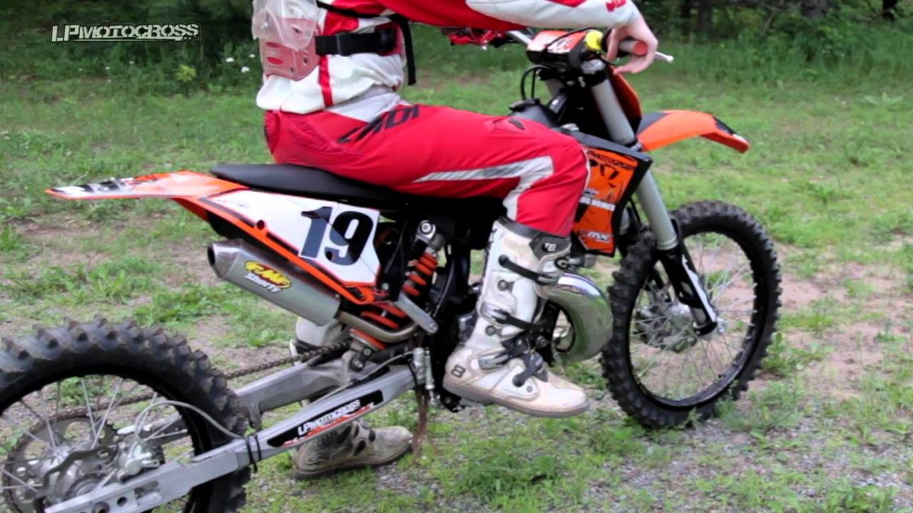 2009 ktm 250 sx rev up | fmf gold series sst exhaust - youtube