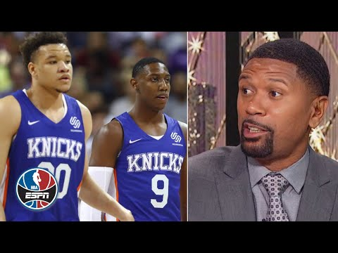 Knicks need RJ Barrett or Kevin Knox to become a star - Jalen Rose | NBA Countdown