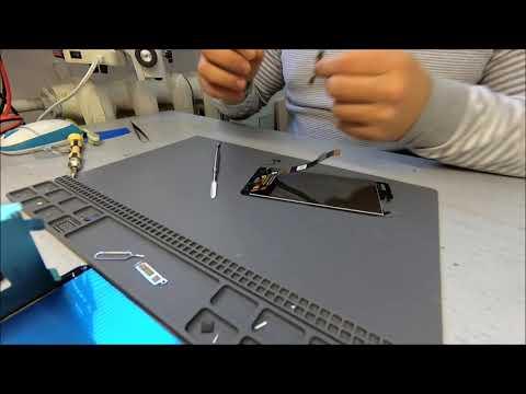 Nokia 5 - Замена дисплейного модуля (LCD Replacement).