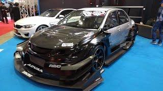 Tokyo Auto Salon Part 1 - Wide Body 2015 Miata, Prius Race Car?, Super Aggressive Evo  - Vlog 23