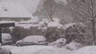 Orkan Friederike auf dem Weg nach Deutschland - Tempête - Storm