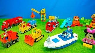 Feuerwehr, Müllauto, Laster & Bagger, Spielzeug für Kinder, Spiel & Spannung