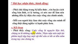 Chuyên đề môn văn: Rèn luyện kỹ năng viết đoạn văn NLXH, THPT Yên Phong số 1