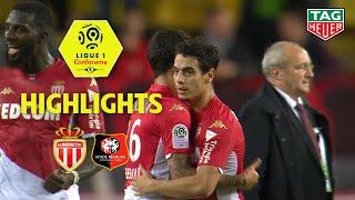 AS Monaco - Stade Rennais FC ( 3-2 ) - Highlights - (ASM - SRFC) / 2019-20