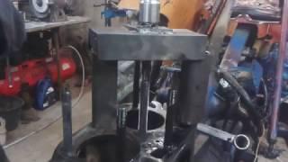 Wyciąganie tulei silnika ursus c330