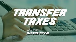Calculating Transfer Taxes in Florida - Ask the Instructor