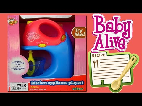 Help We Need Your Baby Alive Doll Food Recipes Plus New
