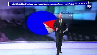 تراجع صافي الاستثمار الأجنبي في بورصة عمان خلال الشهر الأول من العام الحالي - (5/2/2020)