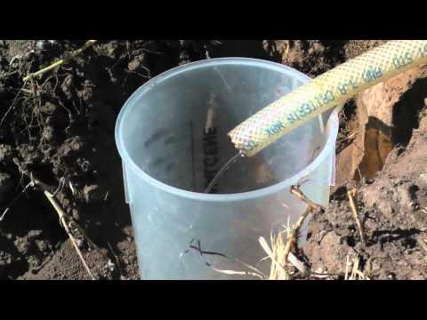 Salty Soil Infiltration Test