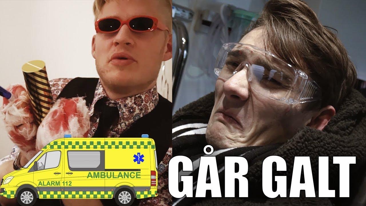 VORES NYTÅR GÅR GALT *Ender i ambulance*