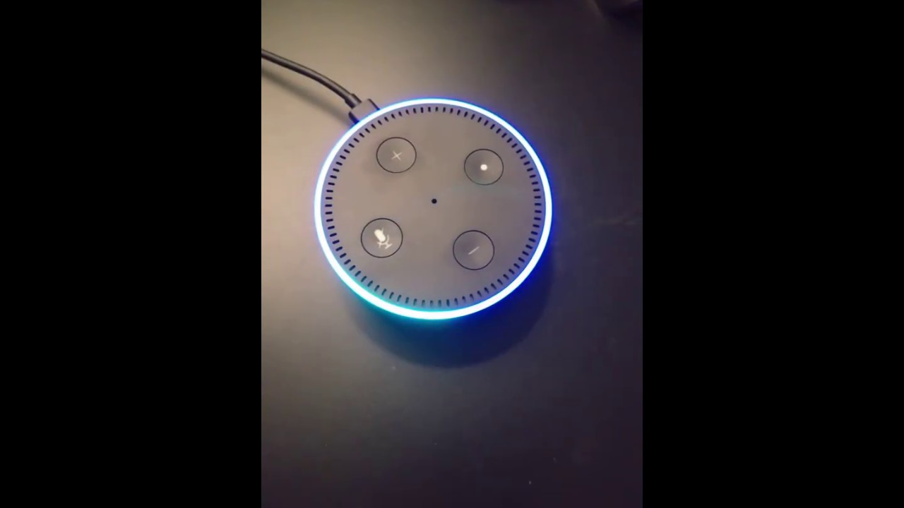 3 minute test with amazon alexa using echo dot turn on. Black Bedroom Furniture Sets. Home Design Ideas