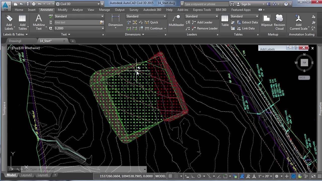 Creating a Cut–Fill Exhibit in Civil 3D