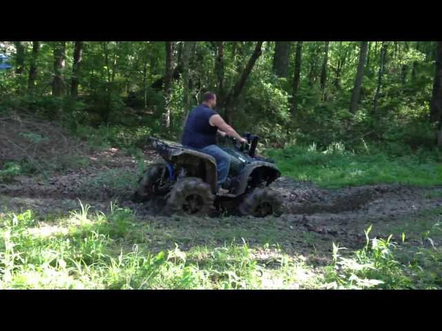 2012 Yamaha Grizzly 700 with 6in Catvos Lift and 32in Silverbacks