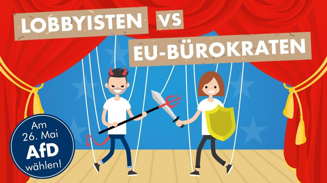 AfD: Bürokratie- und Lobby-Wahnsinn der EU stoppen!