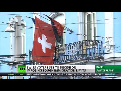 Outsiders Out? Swiss decide on tougher immigration limits