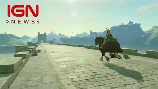 the legend of zelda breath of the wild is wii u nx game s official title ign news