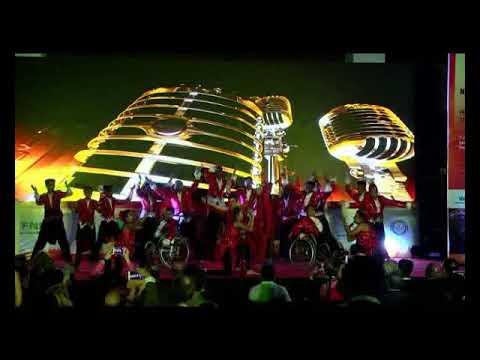 Shiamak Davar Victory Arts Foundation Performance At 10th World Congress For Neurorehabilitation 201