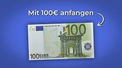 Wie du 100€ in 2020 richtig investierst (5 Methoden)