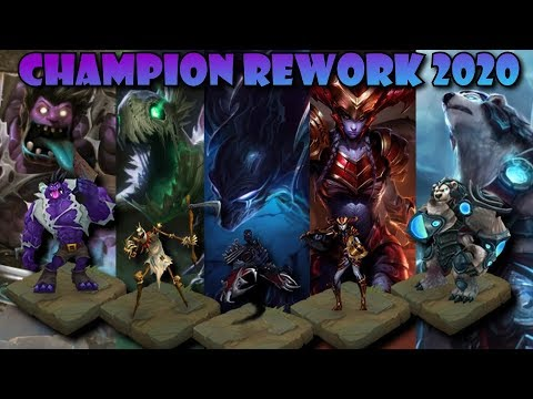 League Of Legends Rework List 2020.Champion Rework 2020 Ihr Entscheidet League Upcoming