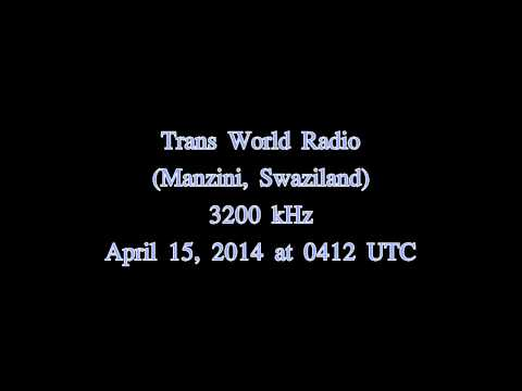 Trans World Radio (Manzini, Swaziland) in german - 3200 kHz