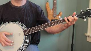 "Mumford and Sons ""Winter Winds"" Banjo Lesson (With Tab)"