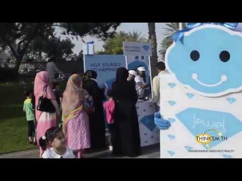 DUBAI PARK Activation -  Jewel Corner ThinkSmith Mena