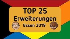 Essen Spiel 2019 - Top 25 Erweiterungen