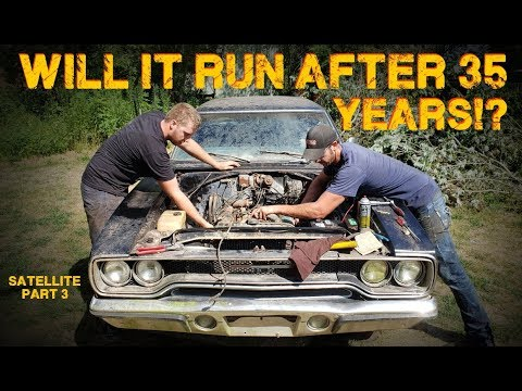 ABANDONED Muscle Car Revival! First Start In 35 Years! -- Part 3