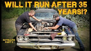 Download ABANDONED Muscle Car Revival! First Start in 35 years! -- Part 3 Mp3 and Videos