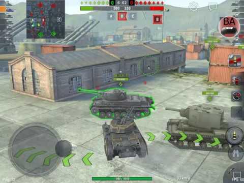 World Of Tanks: Blitz, Helsing HQ  (Uncut ASUS ZenPad 3s 10 Footage)