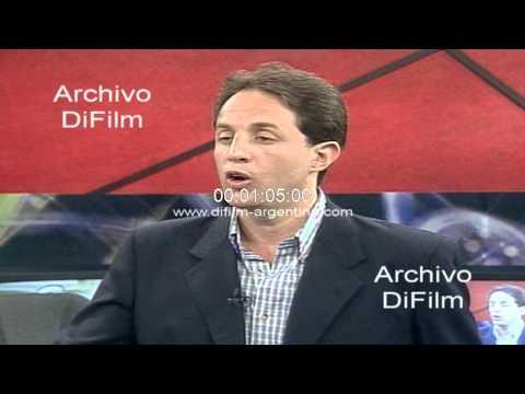 DiFilm - Ernesto Tenembaum tema de la re-reeleccion de Menem 1998