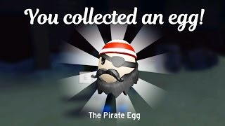 How to find The Pirate Egg in Roblox / 2017 Egg Hunt The Lost Egg Challenge / Gamer Chad