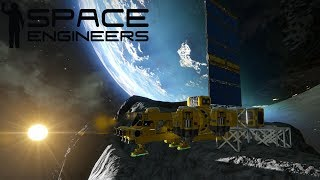 SPACE ENGINEERS LIVE #8 - LA MIA BASE SULL'ASTEROIDE - GAMEPLAY ITA