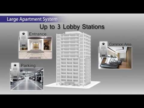 Panasonic Video Intercom System for Apartment Complexes