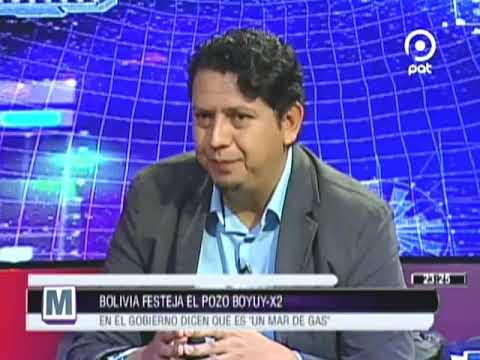 [VIDEO EN NM]BOLIVIA festeja el pozo BOYUY-X2 en el gobierno dicen que es un Mar de Gas