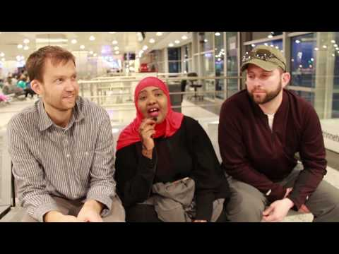 Trip to Somalia by Team Somalia: Saciido Shaie, Simon Trautmann, and Ethan Miller