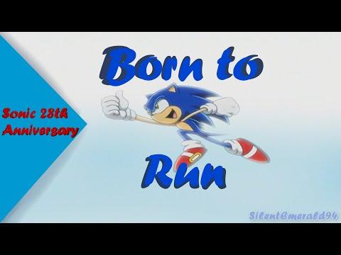 Sonic 28th Anniversary - Born To Run AMV